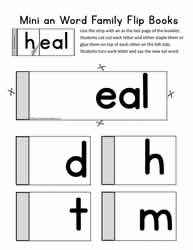 eal Word Family Flip Book