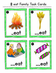 eat Vocabulary Cards