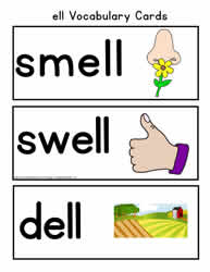 ell Vocabulary Cards