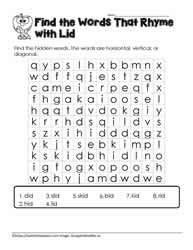 id Word Search