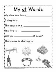 Sentences For ot Words