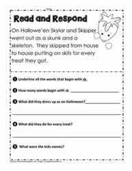 Read and Respond sk Blends