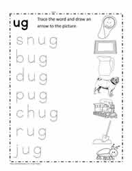 ug Word Family Activity