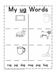 Print ug Words