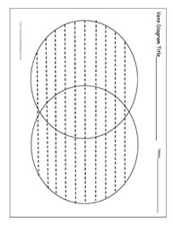 Venn Worksheet (with lines)