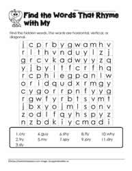 y Word Search